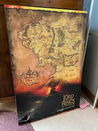 Lord of the Rings The two towers canvas Louisville, 80027