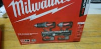 Brushless Milwaukee drill and impact. Toronto, M1V 4C6
