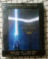 Star Wars the Force Awakens blueray collectors Oklahoma City, 73135