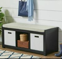 black and white wooden cabinet 2218 mi