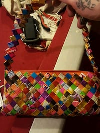 Purse made of colorful  wrappers  Calgary, T2A