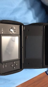 black Nintendo DS with case Ladner, V4K 5G2