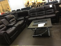 Reclining Sofa and Love Seat. Brand new. Farmers Branch, 75234