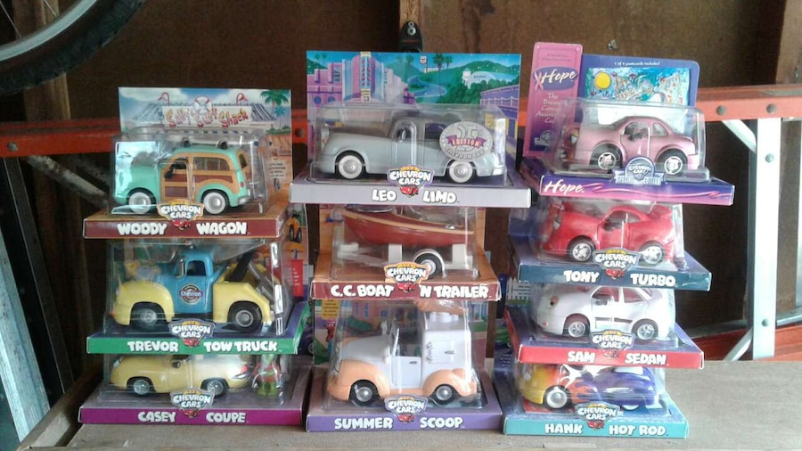 Lot 1 of 10 Chevron Cars