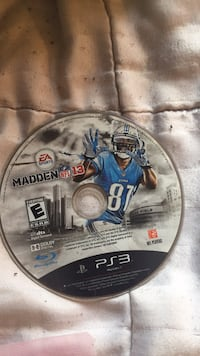 Madden NFL 18 PS4 game disc Oroville, 95965