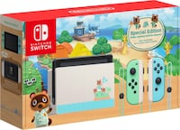 Limited edition Animal Crossing Nintendo Switch