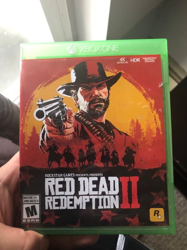 Red Dead Redemption 2 Xbox One 0