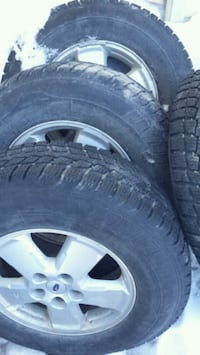 Set of Ford Escape rims with (New) winter tires Sudbury