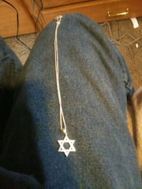 Star of David pendant necklace Vancouver