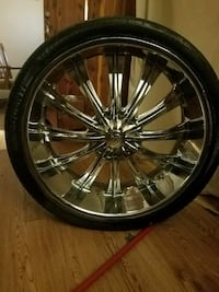 26' wheels and tires
