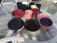 18 Pieces of fiesta dinnerware Allentown, 18109