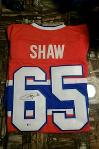 Andrew Shaw Signed Canadiens Jersey(authenticated) Orangeville, L9W 3A5