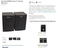"2 -5"" MP5 Newark Speakers Mississauga, L4Z 2V1"