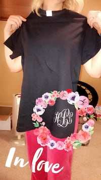 Making & Selling Monogrammed T-Shirts! Any color!