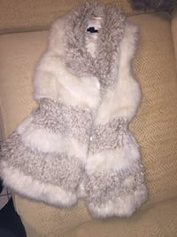 white and brown fur coat Vancouver, V5X 1N5