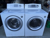 white front-load washer and dryer set Mississauga, L4W 3P4