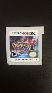 Pokémon Y 3ds and 2ds game cartridge Edmonton, T6H 3W1