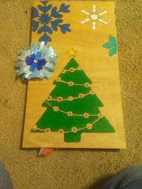 brown and blue wooden board Ohatchee, 36271