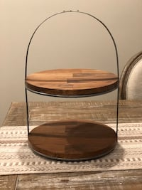 Hearth and Hand Two Tier Serving Tray
