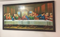 The painting of Jesus Christ (Last Supper) Surrey, V4N