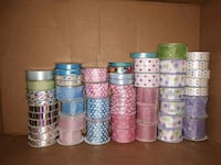 56 Rolls of Spring/Easter Ribbon Niles, 49120