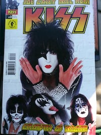Kiss comic book Dark horse #3 Creatures of might.