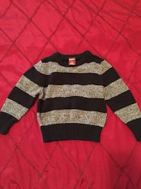 gray and black striped sweater Eugene, 97404