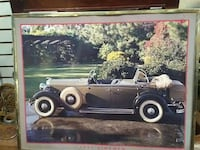 classic brown convertible coupe photo