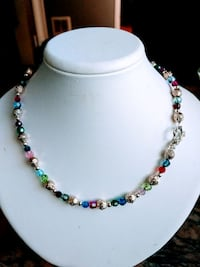 Sterling Silver Necklace with Swarovski Crystals Vancouver, V5R 1M7