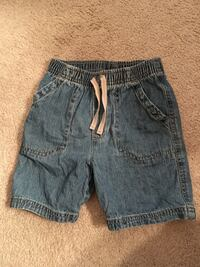 Jean shorts size 4T with elastic waistband  Falls Church
