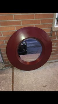 32 inch Red Circle Mirror not perfect Norwood, 19074