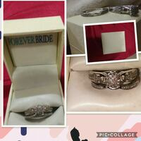 silver and diamond ring collage Madera, 93637