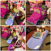Huge Barbie Collection, Cars, Barbie Dolls, houses etc... Tracy, 95391