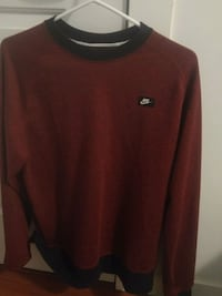 Nike red and black sweater Burnaby, V3J 1H1