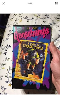 Goosebumps A Night In Terror Tower Rare Official VHS Tape R.L. Stine London, N6G 2Y8