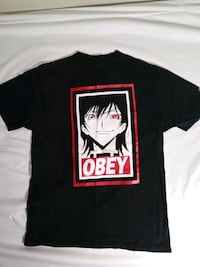 Code Geass Lelouch Obey T-shirt - Medium Washington, 20018