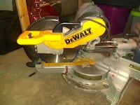 yellow and gray DeWalt miter saw Detroit, 48210