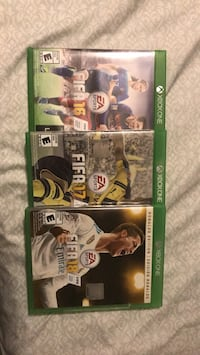 FIFA 16, 17, and 18 collection Hyattsville, 20782