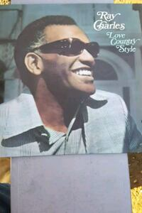 "Ray Charles"" Love Country Style"" vinyl album La Plata, 20646"