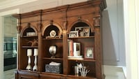 hand carved wooden hutch Ontario, M9A 2J5