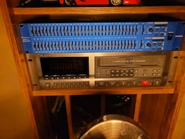 Samson 2 channel 32 band eq and free 8 track recorder vintage