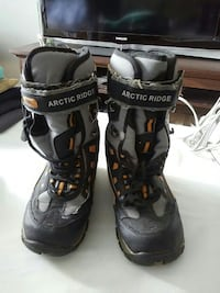 gray-and-black Arctic Ridge snowboard boots Brampton, L6T 2E3