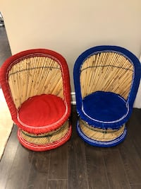 Kids Bamboo Chairs (Set of 2)