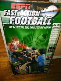 Fast action football 232 km