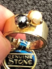 Antique 18k ring from 1930's real cultured pearls  Surrey, V3Z 5K3