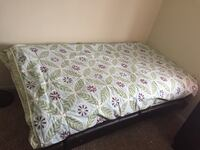 Couch with convertible bed ( free bed) Northville
