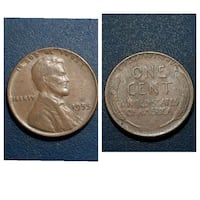 round silver-colored one cent coin collage Cleburne, 76031