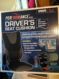 New! ObusForme Driver's Seat Cushion