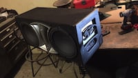 "12"" MTX Audio Subwoofers w/Box Porterville, 93257"