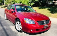 2006 Red Nissan Altima 2.5S Special Edition  Silver Spring